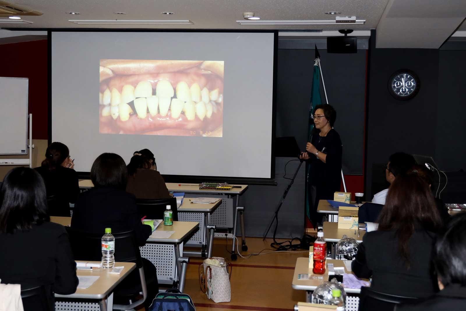 歯科衛生士養成コース_講義風景