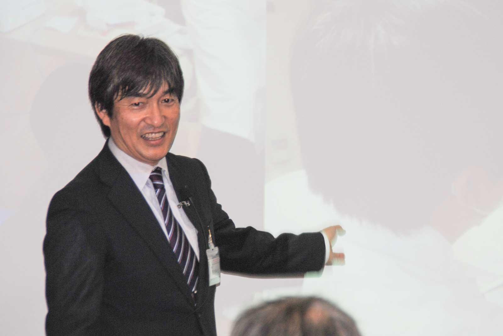 クリニカルベーシックセミナー15講義風景2(植田 耕一郎先生)